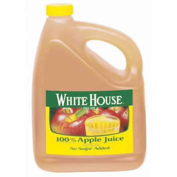 White House 100% Apple Juice From Concentrate, 1 gal