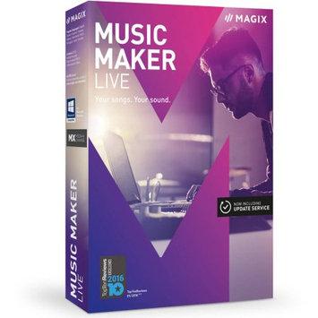 Magix Software ANR006109ESD Magix Music Maker Live ESD (Digital Code)