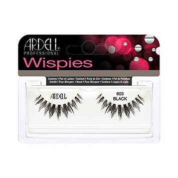 (3 Pack) ARDELL Cluster Wispies 603 Black : Beauty
