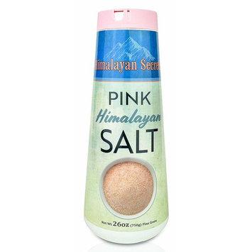 Natural Pink Himalayan Cooking Salt - Kosher Certified Fine Grain Gourmet Salt in 26 oz Refillable Shaker - Heart Healthy Salt Packed with Minerals