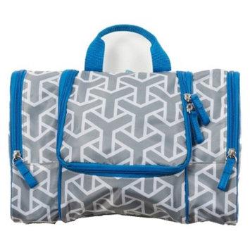 Flat Pack Toiletry Kit - Grey/Blue