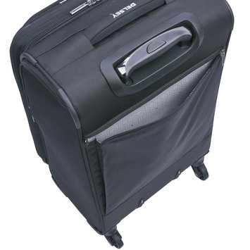 Delsey Sky Max 21 Expandable Spinner Carry-On - Black