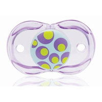 Razbaby Keep-It-Kleen Pacifier, Blue Circles, 0-36 Months (Discontinued by Manufacturer)