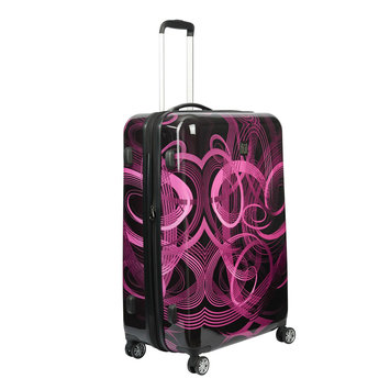 FUL Atomic 28 Expandable Hardside Spinner - Pink