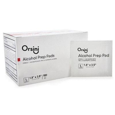Orsini Sterile Alcohol Prep Pads, Large (Pack of 500)