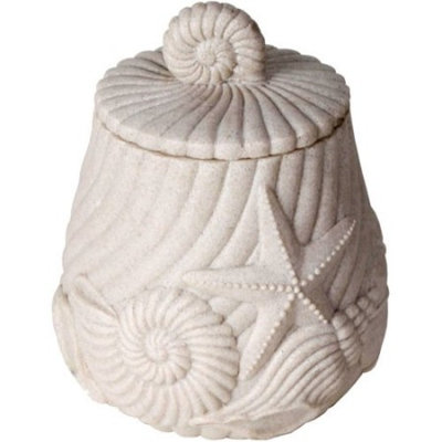 Better Homes and Gardens Coastal Cotton Jar