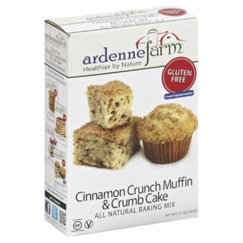 Ardenne Farm All Natural Gluten Free Baking Mix Cinnamon Crunch Muffin & Crumb Cake 21 oz