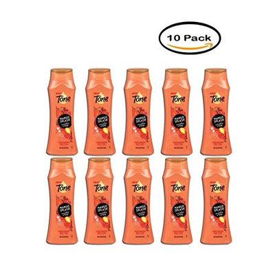 PACK OF 10 - Tone Mango Splash Moisturizing Body Wash 16 fl oz. Bottle