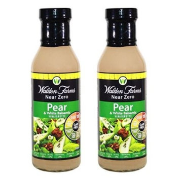 Walden Farms Calorie Free Dressing, Pear/White Balsamic, 12 Ounce