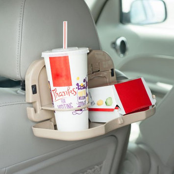 Trademark Global Llc Mobile Backseat Folding Dinner Tray