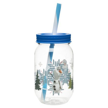 Zak Designs, Inc./infant Division Olaf 19 oz. Can Mason Jar Tumbler