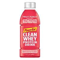 PowerBar Clean Whey Protein Drink RTD Fruit Punch 12 bttls