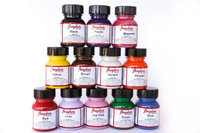 Angelus Collector Edition Acrylic Leather Paint w/App. Starter Kit-12 Colors 1oz
