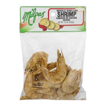 Milpas Whole Shelled Shrimp, 2.5 oz