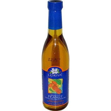 Loriva, Roasted Peanut Expeller Pressed Oil, 12.7 fl oz (pack of 6)