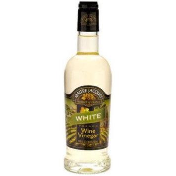 Maitre Jacques French White Wine Vinegar, 17 OZ (Pack of 2)