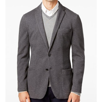 Michael Kors NEW Charcoal Gray Mens Size 46R Slim Fit Two Button Jacket
