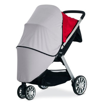 BRITAX B-Lively Sun and Bug Cover in Grey