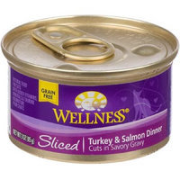 Phillips Feed & Pet Supply Wellness Cuts Sliced Turkey/Salmon Cat Food 24pk