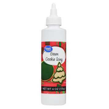Great Value Green Cookie Icing 6oz