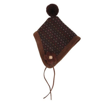 Puppia Large Authentic Yuppie Winter Dog Hat, Brown