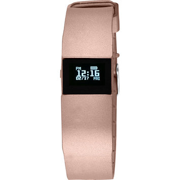 Wired Fitness Tracker Watch Metallic Rose Gold - Wired Wearable Technology