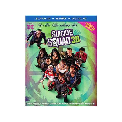 Suicide Squad [3d] [blu-ray/dvd]