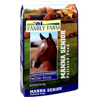 Family Farm: Manna Senior Pelleted Feed, 40 lb
