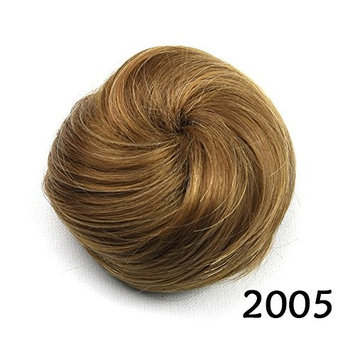 Women's Bun Chignon Synthetic Updo Donut Roller Hair Extension with Drawstring