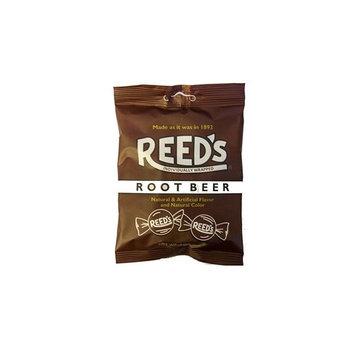 Reeds Root Beer Hard Candy Peg Bag 4 oz (Pack of 12)