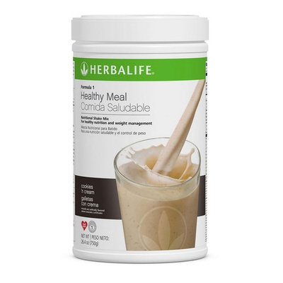 Herbalife Formula 1 Healthy Meal Nutritional Shake Mix (10 Flavor) (Cookies 'n Cream)