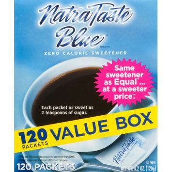 Natra Taste Sweetener, 120 CT (Pack of 2)