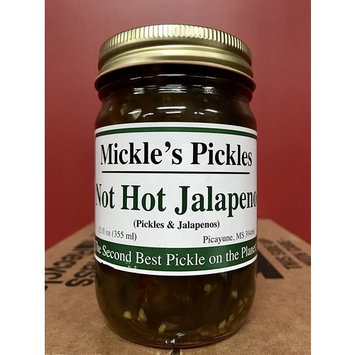 Original Mickle's Pickles Case (12ct) (Not Hot Jalapeno)