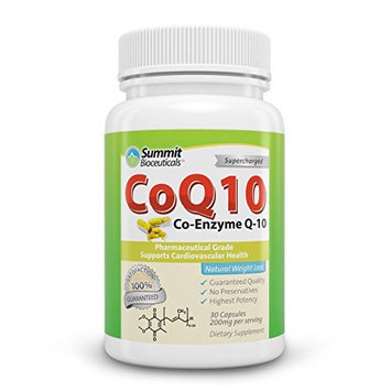 Summit Bioceuticals CoQ10 200mg High Absorption Coenzyme 60 Count [60]