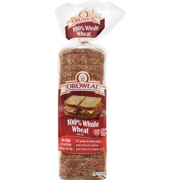 Oroweat 100% Whole Wheat Bread 20 Oz