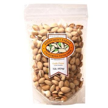 Fidddyment Farms 1 Lb Garlic Onion In-shell Pistachios