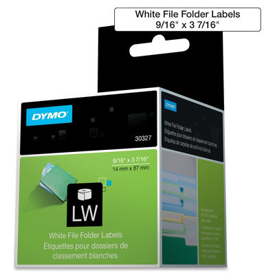 Dymo LabelWriter File Folder Labels - 0.56