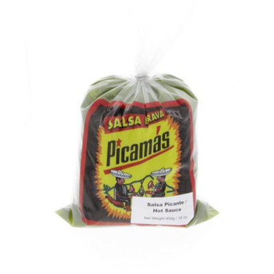 B Picamas Green Hot Sauce 16oz - Salsa Picante Verde (Pack of 6)
