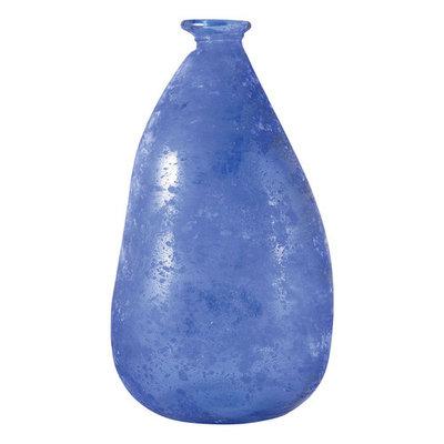 Pomeroy Celesta Textured Glass Bottle Table Decor