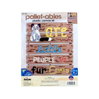 Janlynn Pallet-Ables Cats Are Plastic Canvas Kit-10.5