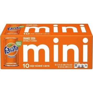 Fanta Orange Soda - 10pk/7.5 fl oz Mini-Cans