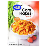 Great Value Corn Flakes Cereal, 24 oz