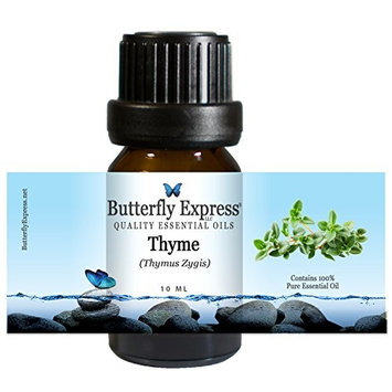 Thyme Essential Oil 10ml - 100% Pure by Butterfly Express