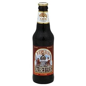 Virgil's Dr. Better Soda, 12 oz Glass Bottles