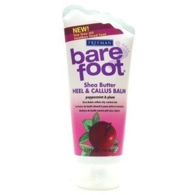 Freeman Bare Foot Shea Butter Heel & Callus Balm Peppermint & Plum 5.3 oz. (Case of 6)