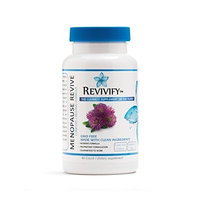 Revivify GMO-FREE Menopause Relief Vitamins and Supplement – Ultraformulated for Women's Health, Hot Flashes, Joint Pain, Female Libido, Estrogen Metabolism, Hormonal Acne – 60-Day Supply