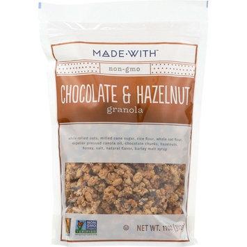 Made With Chocolate & Hazlenut Granola, 11 Oz (Pack Of 6)