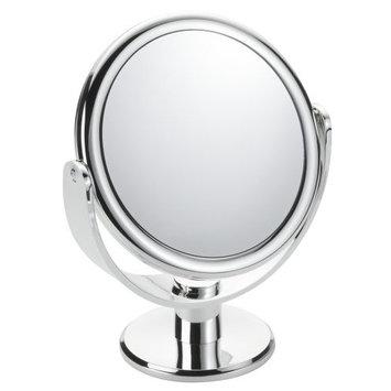 Floxite Fl-83fmc 8x Magnifying 8x / 3x Vanity Mirror, Chrome, Frosted White