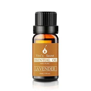 Vivi's Secret V14 Pure Lavender Essential Oil Therapeutic Grade Natural 10ML for Aromatherapy Diffuser Face Hair Skin Care Massage Use [Lavender Aromatherapy]