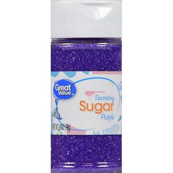 Wal-mart Stores, Inc. Great Value Purple Decorating Sugar, 3.5 oz